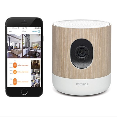 Withings Home Wi Fi Security Camera